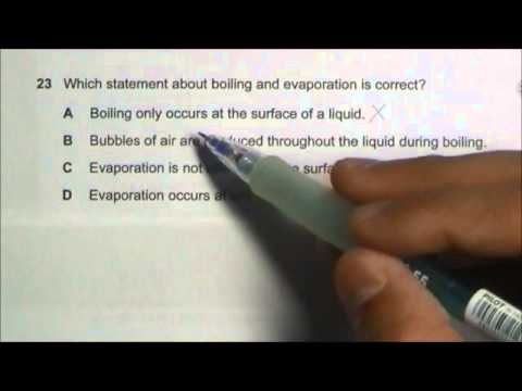 2013 O' Level Physics 5058 Paper 1 Solution Qn 21 to 25