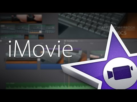 how to edit audio on iMovie