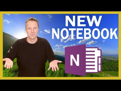 Cant create a new Notebook in OneNote on iPhone or iPad.