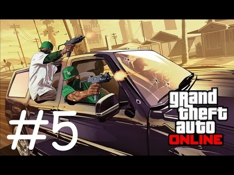GTA 5 Online (PS4) - CAR VS TANK?!