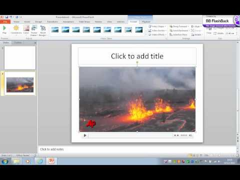 Insert a video into powerpoint - Easy (Try this first).wmv