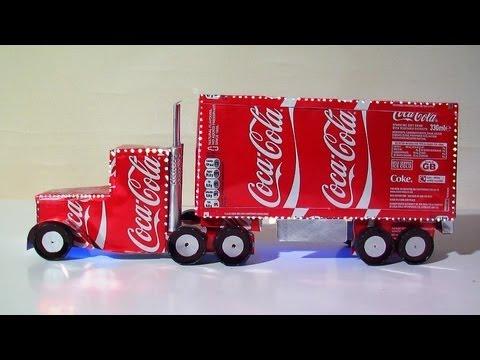 DIY Coca Cola Truck Plans