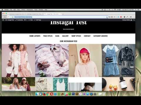 Instagal - Home Page Templates