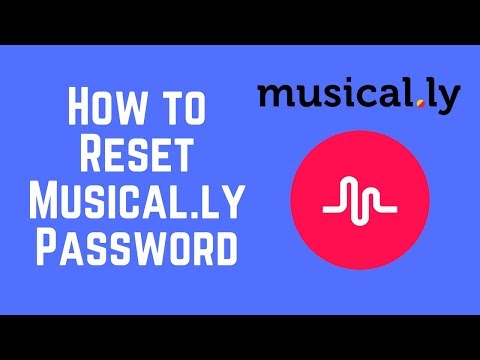 How to Reset or Change your Musical.ly Password in 2 Minutes (2018)