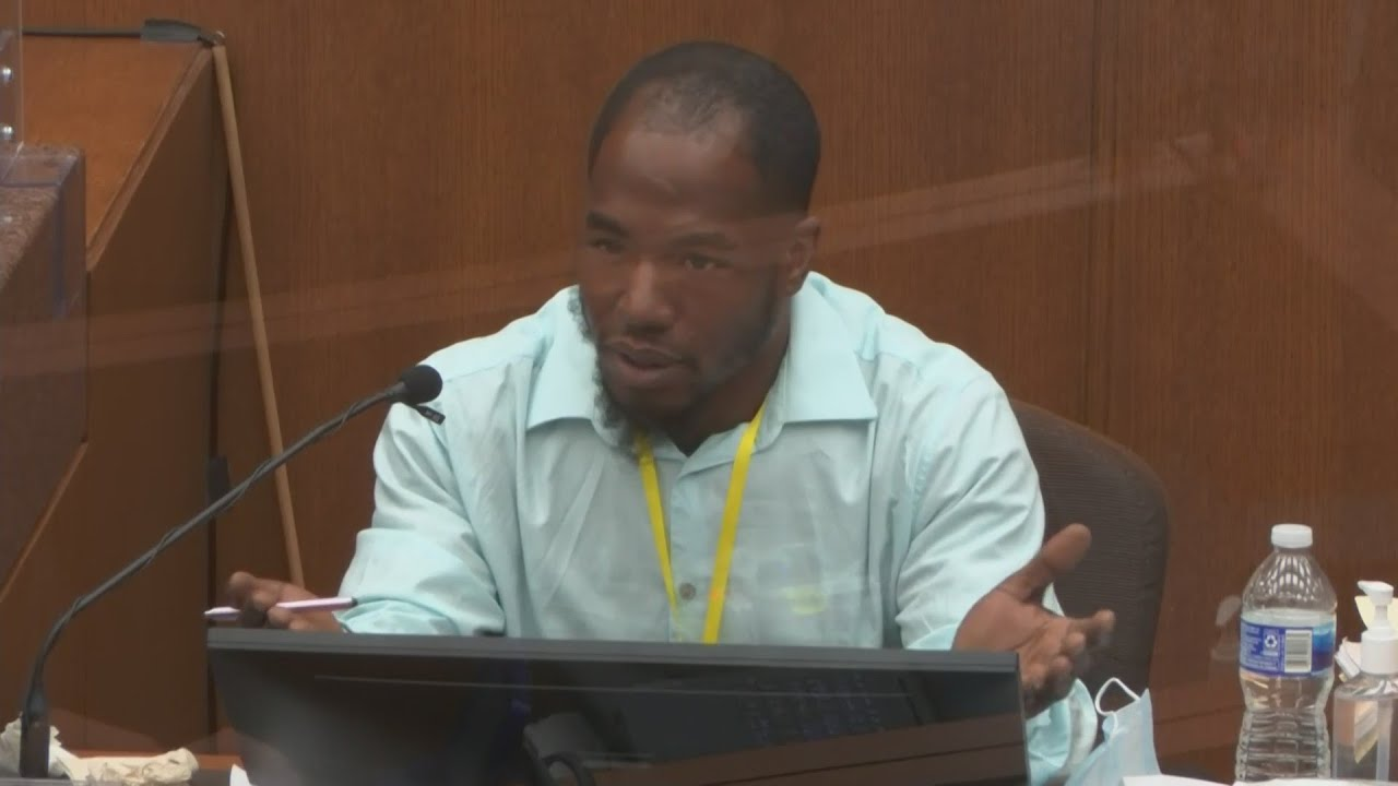Donald Williams testifies on the second day of the Derek Chauvin trial