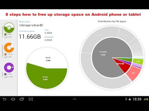 8 steps how to free up storage space on Android phone or tablet, simple way !