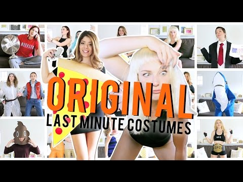 ACTUALLY ORIGINAL LAST MINUTE HALLOWEEN COSTUME IDEAS | THE SORRY GIRLS