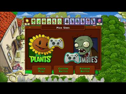 Plants vs. Zombies XBLA Game Trailer