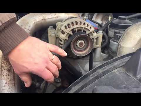 How to Change The Alternator on a 6.0L F250