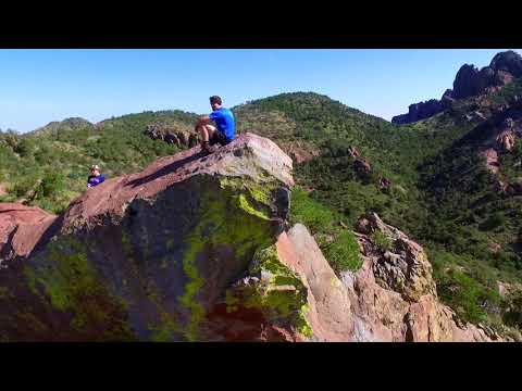 Big Bend National Park, Texas, Drone Video DJI Phantom 3
