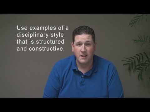 Interview Tips: What is your disciplinary style? A BAD answer / example.