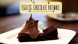 Eggless Chocolate Brownie | Quick & Easy Dessert Recipe | Beat Batter Bake With Priyanka