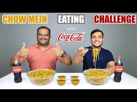 CHOW MEIN EATING CHALLENGE | Chinese Noodles Eating Competition | Food Challenge