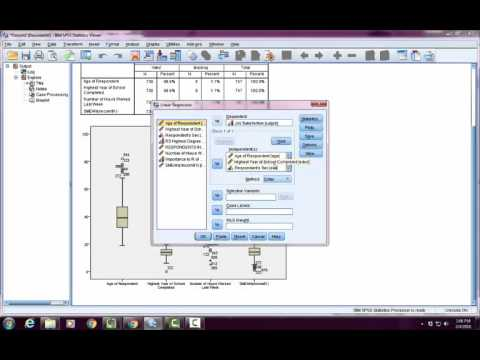 SPSS Outliers Tutorial