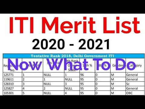 Xxx Mp4 ITI Merit List 2018 2019 Admission ITI Trades Merit List 3gp Sex