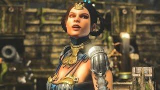 Mortal Kombat X - Kitana: All Intro Dialogues (60 FPS)