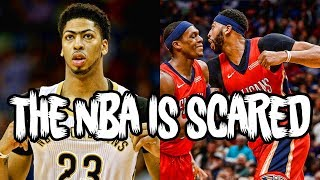 Why NBA STARS are TERRIFIED of Anthony Davis