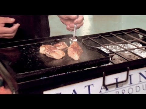 The Sporting Chef - Tommy Gomes prepared Sauteed Leopard Shark