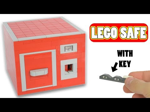 LEGO Safe with key | New mech