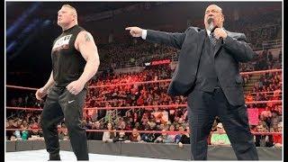 MAJOR BACKSTAGE HEAT BETWEEN PAUL HEYMAN WWE CREATIVE OVER Brock Lesnar WWE RAW 2017 BOOKING