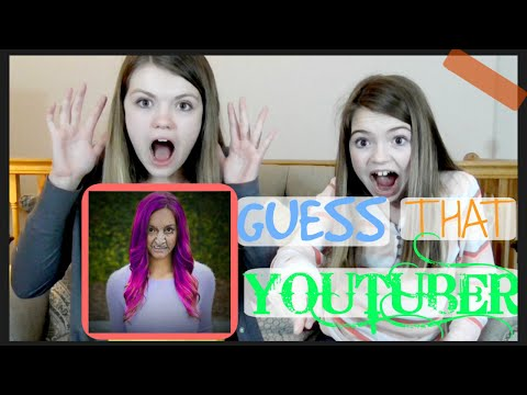 Guess That YouTuber Challenge!