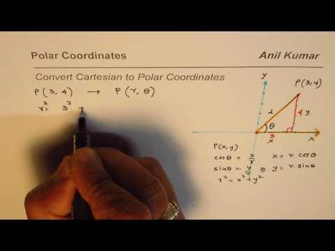 Basic How to Convert Cartesian to Polar Coordinates