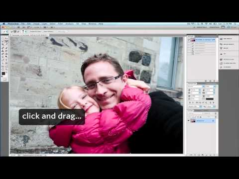 Change color using Quick Selection Tool in Photoshop CS5