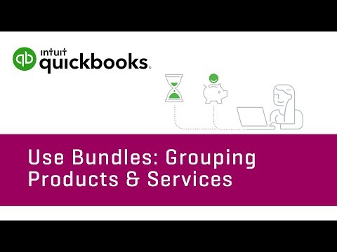How to Use Bundles: Grouping Products & Services   QuickBooks Online Tutorial 2018