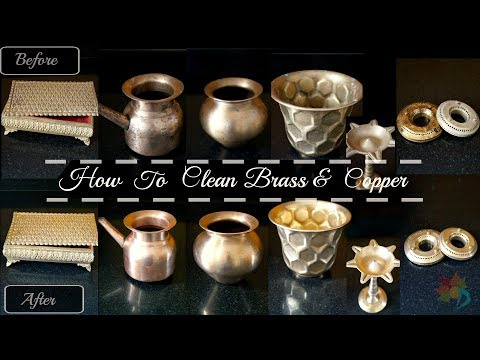How to clean Brass & Copper