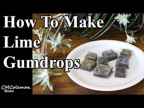 Lime Gumdrops Recipe