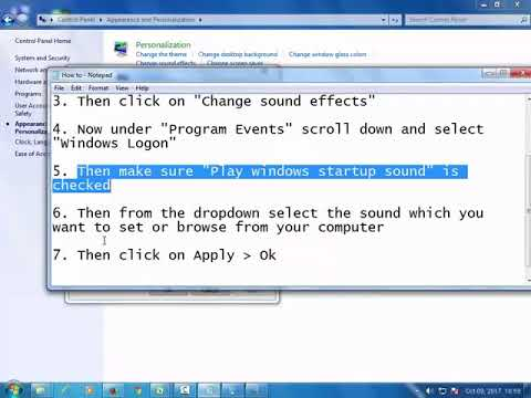 How to Change Windows Startup Sound