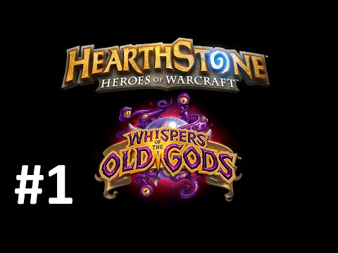 Hearthstone Cards in World of Warcraft - Whispers of the Old Gods #1