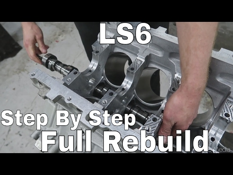 The Build BEGINS! LS Motor Assembly From SCRATCH - Wide Body V8 FD RX7 Build Video Series 26