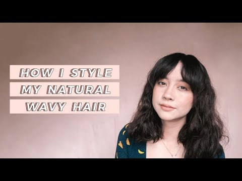 How I Style my Natural Wavy Hair (feat. Dyson Supersonic Mini Review) | Camie Juan
