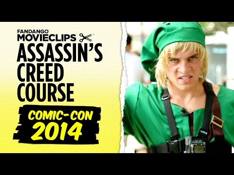 Comic-Con 2014 - Ubisoft Assassin's Creed Obstacle Course (2014) HD