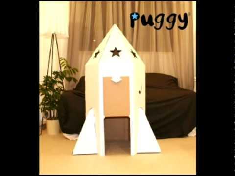Cardboard Cubby House Rocket.mp4