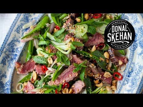 SUPER SUMMER SALAD- Thai Beef and Mint Salad!