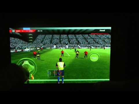 Real Football 2012 Samsung Galaxy S2 Gameplay & Review! (HD) (Best Free Android 4.0.2 Games)