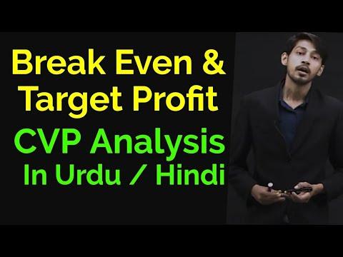 CVP Analysis - Target profit after Tax