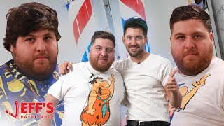 Download JONAH HILL HAIRCUT ft. DAVID DOBRIK | Jeff's Barbershop Video