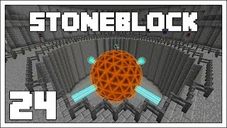 Stoneblock - EP21 - Quintupling Ores With Mekanism - Modded