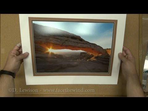 How to Make a Triple Mat for Framing Photos