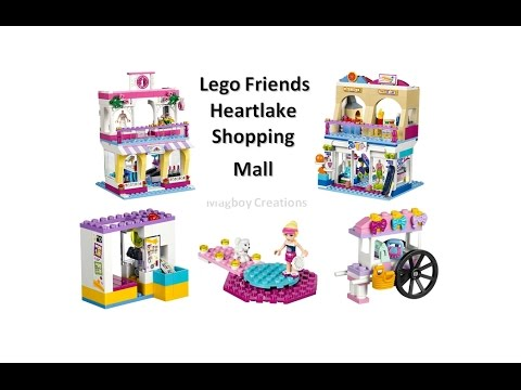 Friends Lego Review 41058 Heartlake Shopping Mall