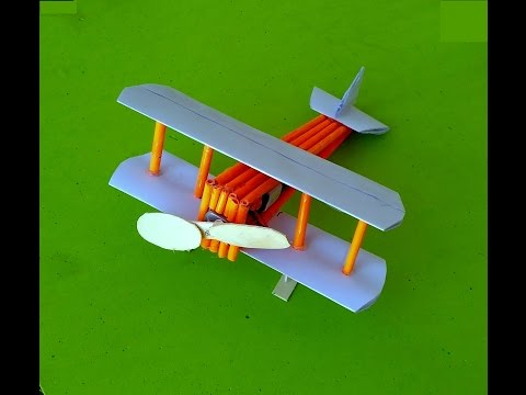How to make paper toy airplane - aeroplane - aircraft - glider plane - toy for kids story game