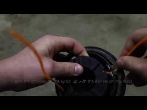 How to Replace Nylon Brushcutter String Trimmer Line Honda UMK425U