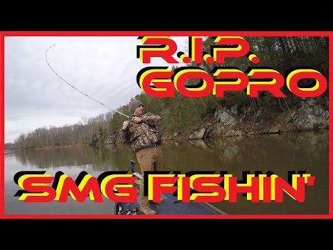 Winter Fishing Is Tough (R.I.P. GoPro)
