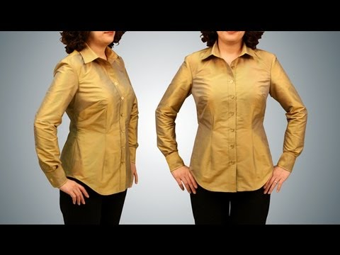 Shirt Sewing Button Down   Long Sleeve)   Introduction (FREE SAMPLE)