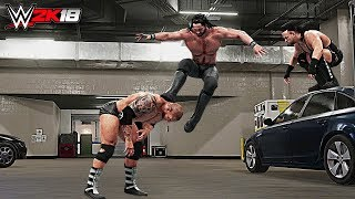 WWE 2K18 Top 10 Finisher Combinations!