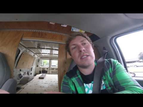 Man in a van with no plan #5 - the big move, ratboy on FaceTime and some 18+