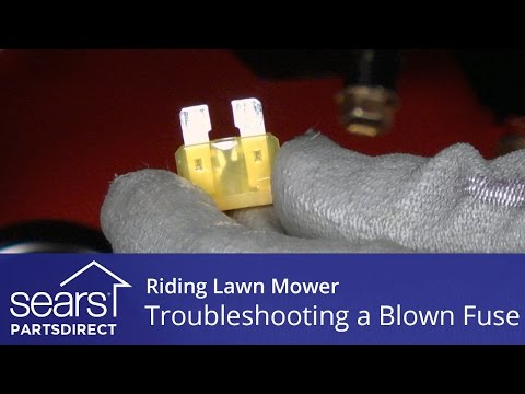 Troubleshooting a Blown Fuse on Riding Lawn Mower